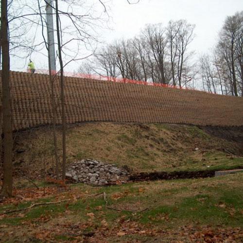 Geoweb atraminės sienos