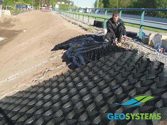 Geoweb G3V3 - šlaitų apsauga