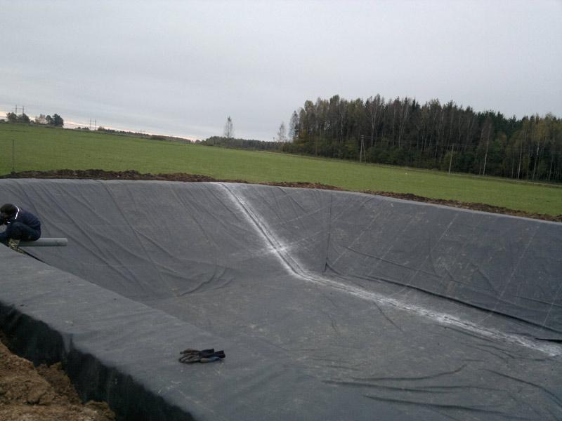 Lagūna Šilutėje 700 m2 2012 m.