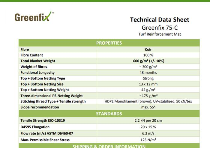 Greenfix 75-C