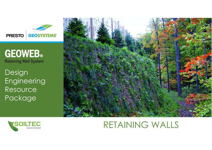 Soiltec GEOWEB Retaining Wall Design Package