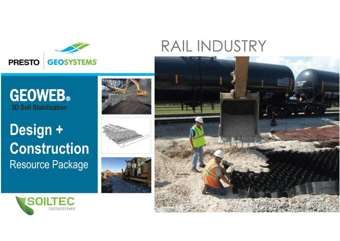 Soiltec GEOWEB Rail Design and Contruction ebinder