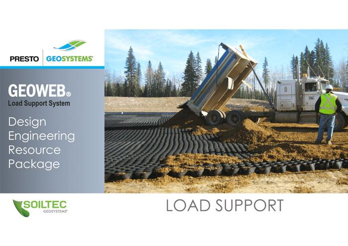 Soiltec GEOWEB Load Support Design Package