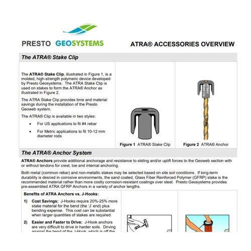 ATRA Accessories Overview